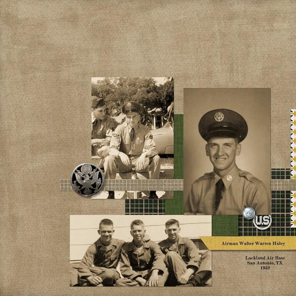 Lackland AFB, San Antonio, TX 1952