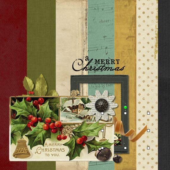 Vintage Christmas Digital Kit