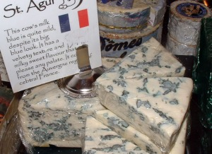 St. Agur blue cheese.  A new favorite!